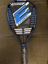 New listing NEW E-Force Takeover 160g Quadraform Racquetball 3 5/8 Grip Racquet