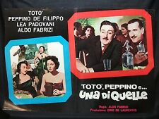 FOTOBUSTA CINEMA - TOTÒ, PEPPINO E UNA DI QUELLE - TOTÒ - 1953 - DRAMMATICO -06