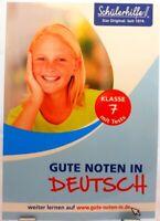 Gute Noten in Deutsch + Übungsbuch Nachhilfe Original Schülerhilfe 7.Klasse /62