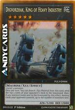 INGLESE Digvorzhak, King of Heavy Industry ☻ Oro ☻ PGL3 EN064 ☻ YUGIOH ANDYCARDS