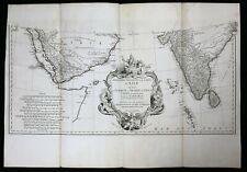 Carte Première partie Asie Jean-Baptiste Bourguignon d'Anville (1697-1782)