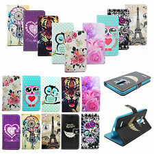 Flip Magnetic Leather Card Slots Wallet Phone Stand Cover Case For LG G4