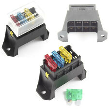 Fuse Box 4 Way for Standard Blade Fuses ATO Holder / Block Base Entry