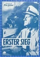 Erster Sieg Illustrierte Film Bühne Nr.7155 B19268