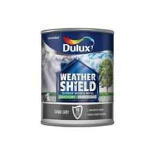 Dulux Weathershield Quick Dry Undercoat Dark Grey - 750ml 5092084