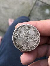 More details for queen anne silver half crown 1707 edinburgh freepost uk