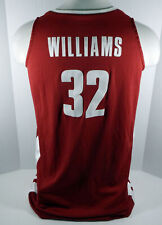 Alabama Crimson Tide Williams #32 Game Used Red Jersey