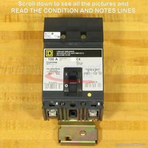 Square D FC24100AB Circuit Breaker, 100 Amp, 65 kAIR, NEW!