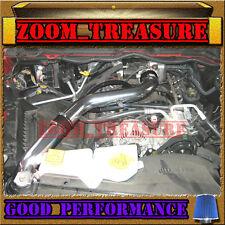 BLACK BLUE 2002-2007 DODGE RAM 1500 3.7 3.7L V6 FULL COLD AIR INTAKE KIT STAGE 3
