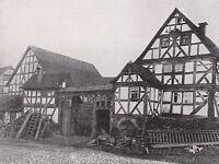 Fronhausen in Hessen um 1910 - Gehöft - SELTEN