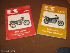 MANUEL REVUE TECHNIQUE D ATELIER KAWASAKI KZ 750 Z 1980-1981Service manual Z750