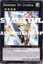 Yu-Gi-Oh! Numero 39 Utopia STARFOIL SP13-IT021 fortissima carta di yuma Zexal