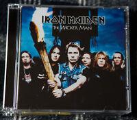 IRON MAIDEN Rare 3 tracks + video MAXI cd single THE WICKER MAN enhanced EU
