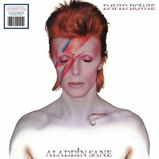 Aladdin Sane [Limited Edition Silver Vinyl] [4/20] by David Bowie (Vinyl, Apr-2018, Rhino (Label))