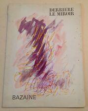 BAZAINE BOOK BEHIND THE MIRROR EDITION MAEGHT 1968