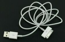 USB Charger Charging Cable Cord White For iPhone 4 4S 4G 3GS 2G iPod Touch