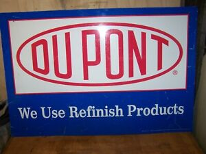 "Metal Dupont Sign 36""X24"""