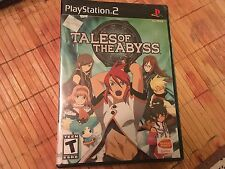 *NEW* Tales of the Abyss (Sony PlayStation 2, 2006) SEALED RARE GAME PS2 RPG