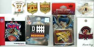 Redskins Vintage Pin Choice Pins Washington Pendant Keychain NFC Champs Houston