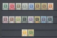 GAMBIA 1912-22 SG 86/102 + Shade MINT Cat £200+