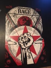 PROPHETS OF RAGE SIGNED 12X18 PHOTO EXACT PROOF COA AUTOGRAPHED TOM MORELLO