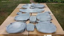 2007 BUICK LACROSSE CX OEM CLOTH SEAT COVERS GREY