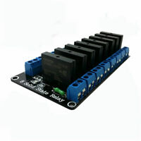 Eight / 8 Channel 5V OMRON Low Level Trigger Solid State Relay Module  Arduino