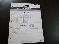 Original Service Manual JVC ux-v55r