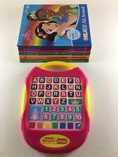 My first Smart Pad Library plus 7 Disney Princess books preschool learning
