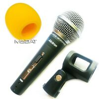 PM-03 58 Style Handheld Vocal Mic, On Off Switch, PM03 Microphone, Wind Screen