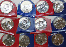 2010 2011 2012 2013 2014 2015 2016 Kennedy P and D UNC Lot Half Dollar 14 coins