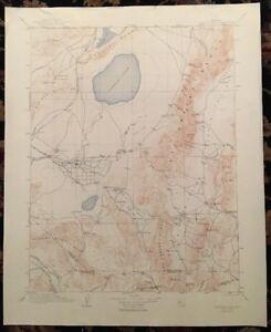 USGS Topographic Map 1910 Data CARSON SINK QUADRANGLE,  NEVADA