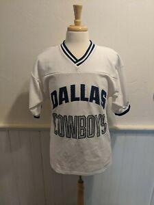 RARE Vintage 70s 80s 90s Dallas Cowboys Football Jersey LOGO 7 Sz Large L SALE