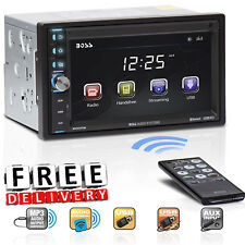 Double Din Car Stereo BOSS Audio USB SD AUX Bluetooth Radio Rear Camera