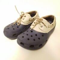 Unisex Crocs Lace Up Shoes Men's Size 7 / Women's Size 9