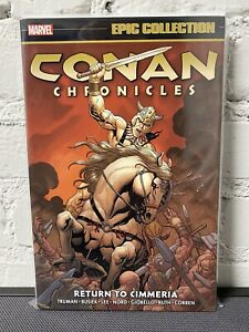 CONAN Chronicles - Return to Cimmeria TPB Marvel Epic Collection VF+ OOP & Rare