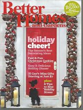 Better Homes and Gardens December 2011 Holiday Decorating & Dinner/Beat Stress