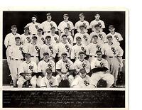1935 CHICAGO WHITE SOX TEAM 8X10  PHOTO  SEWELL CONLON  BASEBALL HOF USA
