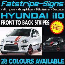 HYUNDAI i10 STRIPES GRAPHICS DECALS STICKERS CAR VINYL 1.0 1.1 1.2 KAPPA GRAND