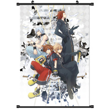3228 Anime Kingdom Hearts 3D Dream.Drop Distance wall Poster Scroll cosplay A