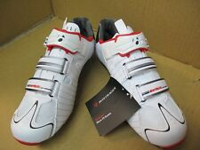 BONTRAGER RXL Cycling Road Shoes White Carbon Buckle Size 38 New TT Women Youth