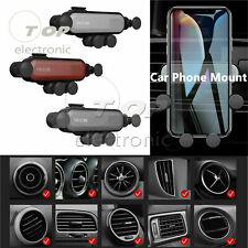 Universal 360° Gravity Car Air Vent Mount Holder Stand Mobile Cell Phone