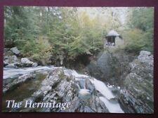 POSTCARD PERTHSHIRE THE HERMITAGE & FALLS OF BRAAN NR DUNKELD