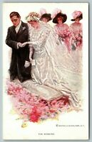 Harrison Fisher~Greatest Moments of a Girl's Life~Bride & Groom~The Wedding~188