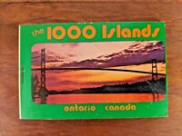 1000 Islands Ontario Canada Vintage Photo Book Plastichrome 10 Views