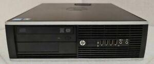 HP Compaq Elite 8300 SFF Core I5- 3.10GHz 8Go RAM 500Go HDD W10 10xUSB
