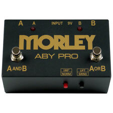 Morley Pedals ABY Pro Selector Splitter / Combiner Footswitch Switch