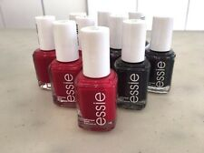 Lot Of 10 ESSIE Nail Polish RED & DEEP PURPLE baby bridal shower party favor