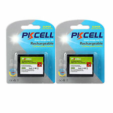 2Cards x Cordless Phone Battery For Panasonic P-P511 ER-P511 HHR-P402 ,Protected