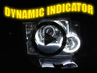 Flexible Lightbar Style DRL LED DYNAMIC INDICATOR For Land Rover Discovery P38